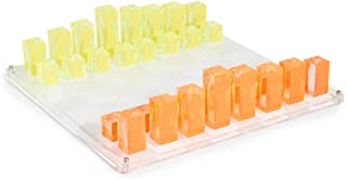 Jonathan Adler Women's Acrylic Chess Set