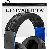 Headband Cover Compatible with PS3 Playstation Gold Wireless,Ear Force X12 X32 X42,HS50 HS60 HS70,Cloud II,Cloud Core,Cloud Alpha,Cloud Pro,MDR-V700,V500,V600,XD900,V900,SRH750DJ Headphones (Large)