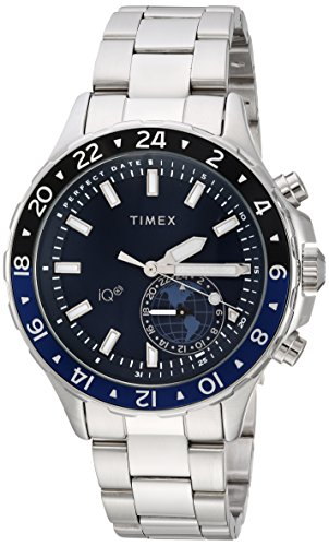 Timex Herren-Armbanduhr Armband Edelstahl Gehäuse Messing Quarz TW2R39700