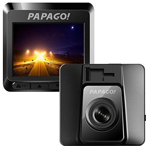 PAPAGO Car Dash Camera GoSafe 388 Full HD Dash Cam 1080P Car DVR with GPS option, Night Vision ,Free...