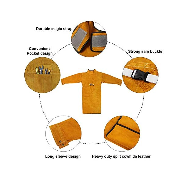 Leather Welding Jacket 2