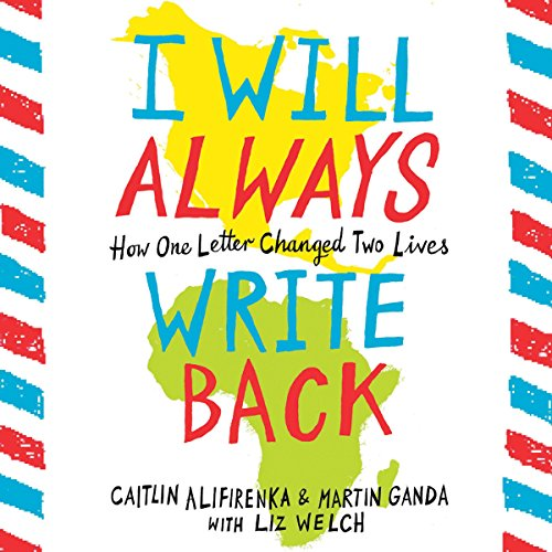 I Will Always Write Back audiobook cover art