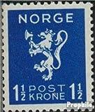 Prophila Collection Noruega 208 1940 león (Sellos para los coleccionistas)