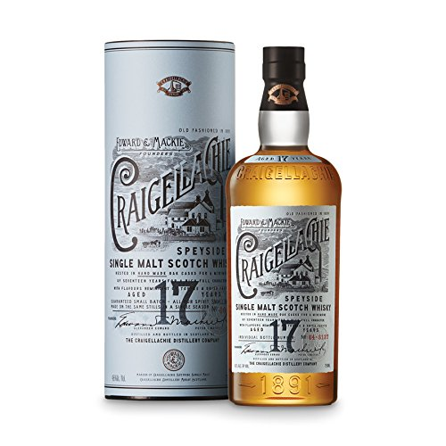 Craigellachie 17 Ans Highland Single Malt 46% 0.7L