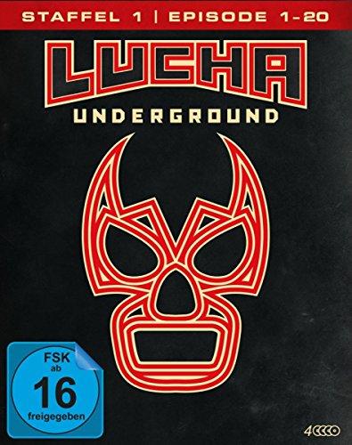 Lucha Underground 1.1 - Episode 1-20 [4 Blu-rays]