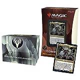Magic The Gathering- Deck Commander Strixhaven – Proclamación de Plumargen, Color Negro y Blanco (Wizards of The Coast C84431010)