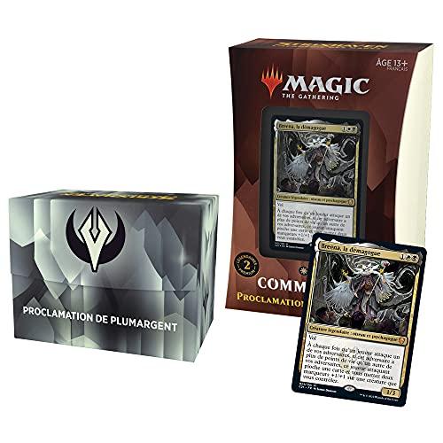 Deck Commander Magic: The Gathering Strixhaven – Proclamation de Plumargent (Noir-Blanc)
