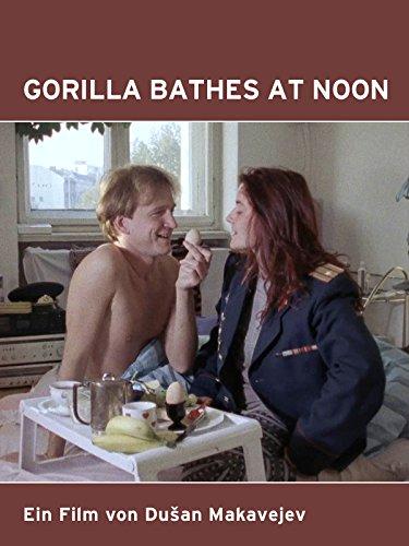 Gorilla Bathes at Noon