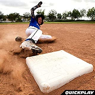 QuickPlay Baseball Safety Base Set of 3 - with Free 2 Year Warranty