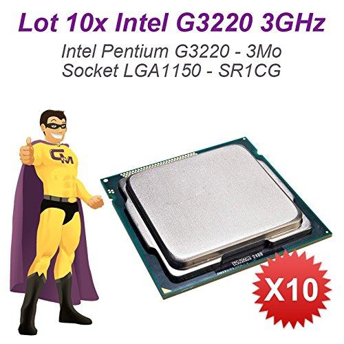 LOT 10x Prozessoren CPU Intel Pentium G32203GHz 3MB 5GT/s FCLGA1150sr1cg