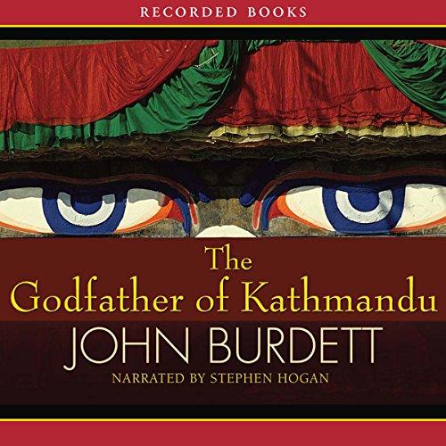 The Godfather of Kathmandu audiobook cover art