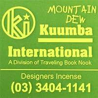KUUMBA/クンバ『incense』(MOUNTAIN DEW) (Regular size)