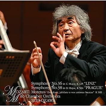 Mozart:Symphony No.36&No.38 etc.