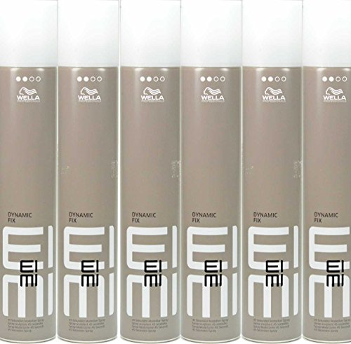 Wella EIMI Dynamic Fix 45 Second Modellier Spray - 300ml (6´er Pack)