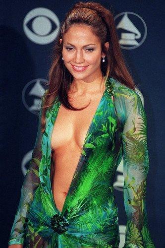 Nostalgia Store Poster Jennifer Lopez in sehr offensichtlichem Kleid, 60 x 91 cm