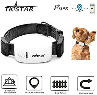$48 » Mini GPS Tracker GPS Finder Locator for Pet Dog/Cat/Pony,GPS/GSM/WiFi Real-time Location Waterproof No Monthly Fee Trackin...