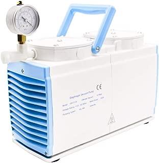KUNHEWUHUA 30 L/min Diaphragm Vacuum Pump Oil Free Dual Heads GM-0.50B (220v)