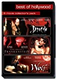 Bram Stokers's Dracula/Mary Shelley's Frankenstein/Wolf - 3 Movie Collector's Pack
