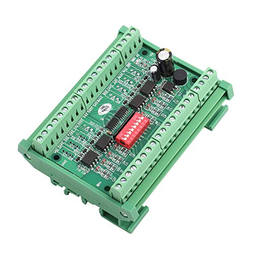 1pc Placa de aislamiento de optoacoplador de 8 canales NPN/PNP a NPN 5V/24V Módulo convertidor de voltaje de nivel Módulo convertidor de señal PLC 10MHZ