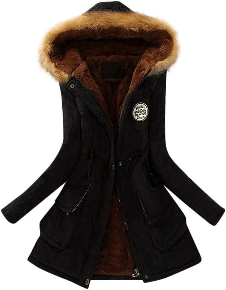 Goddessvan Winter Womens Warm Coat Soldering Slim Jacket Hooded NEW Out