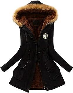 2020 Winter Womens Warm Coat Hooded Jacket Slim Winter Outwear Coats