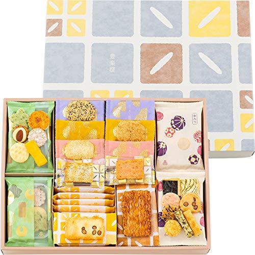 あられとよす 煎餅 せんべい おかき 豊楽撰 362 (49袋) 入 | 米菓子 小袋 贈り物 お歳暮 ギフト 母の日