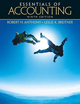 Paperback Essentials of Accounting Book