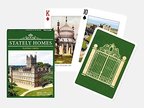 Piatnik Stately Homes Playing Cards Single Deck