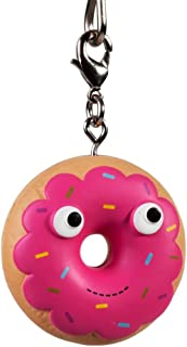 Kidrobot Yummy World Fresh Friends Figure Keychain - Pink Donut