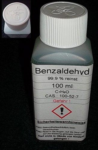 100 ML Benzaldeide \ Benzaldeide 99,9% Bitter Mandorla Aroma