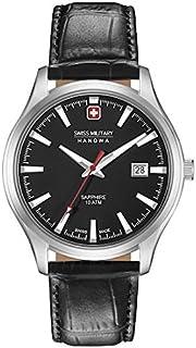 Swiss Military Hanowa - Reloj Analógico para Hombre de Cuarzo con Correa en Cuero 06-4303.04.007