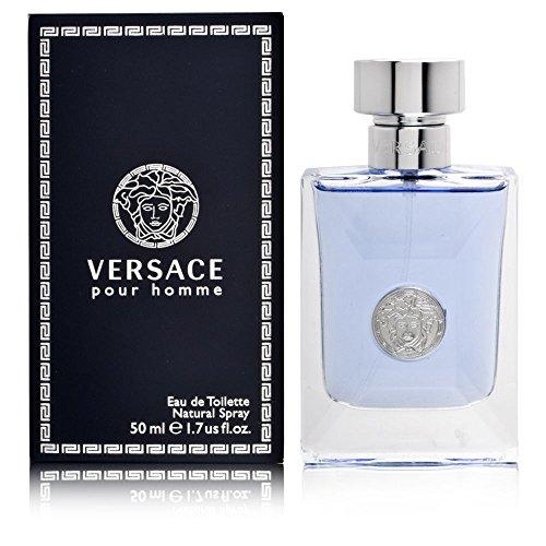 Versace Pour Homme Eau De Toilette, Uomo, 50 Ml