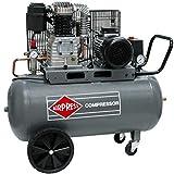 Airpress HK 425-100 - Compresor de aire (3 CV, 2,2 kW, 10 bar, 100 L, 400 V)