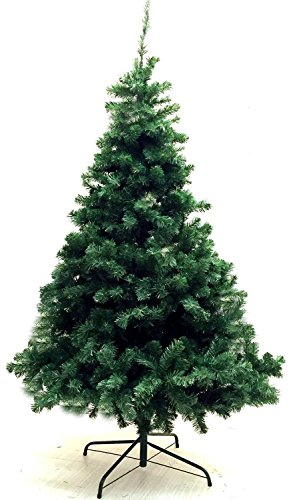 Eco Friendly 6-Feet Artificial Charlie Pine Christmas Tree with Metal Legs - Fullest (1200 Tips)