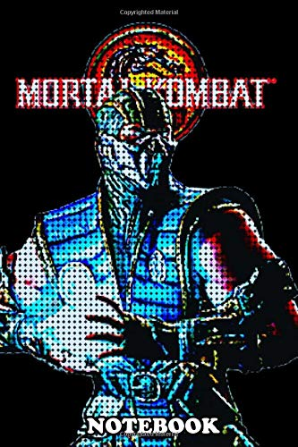 Notebook: Mortal Kombat Pixel , Journal for Writing, College Ruled Size 6