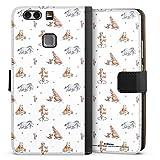 DeinDesign Étui Compatible avec Huawei P9 Plus Étui Folio Étui magnétique Winnie l'ourson Disney...