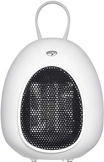 Mini Ventilador Calefactor Estufa, Portátil Handy Heater 500 W, 3 s de calentamiento rápido, con protección contra vuelcos y sobrecalentamiento, para oficina en casa,Blanco