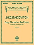 Easy Pieces for the Piano (Including 2 Pieces for Piano Duet): Schirmer Library of Classics Volume 1887 Piano Solo (Schirmer's Library of Musical Classics, Band 1887)