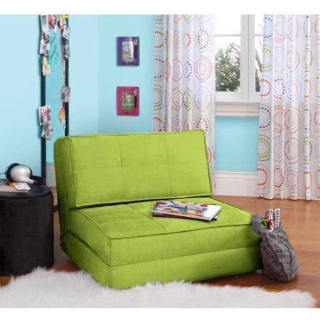 YZ Your Zone Flip Chair, Green (Green)