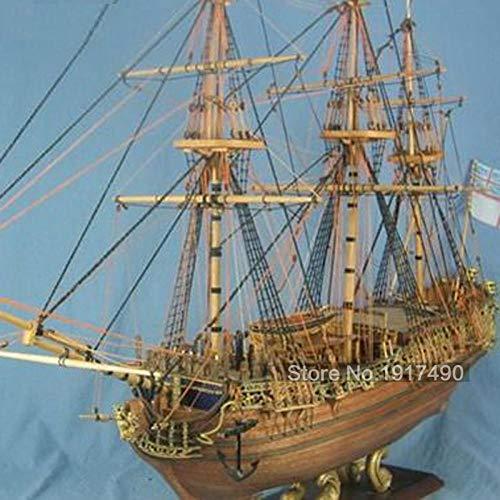 MADOUR Modellbausatz Schiff Schiffsmodell Model Schiffsmodellbausatz Für Erwachsene Holzmodellschiffe Im Maßstab 1:50 DIY Lernspiele Kindermodelle Boote Holz 3D Laser Cut Caroline