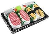 Rainbow Socks - Damen Herren - Sushi Socken Salmon Tamago - Lustige Geschenk - 2 Paar - Größen EU...