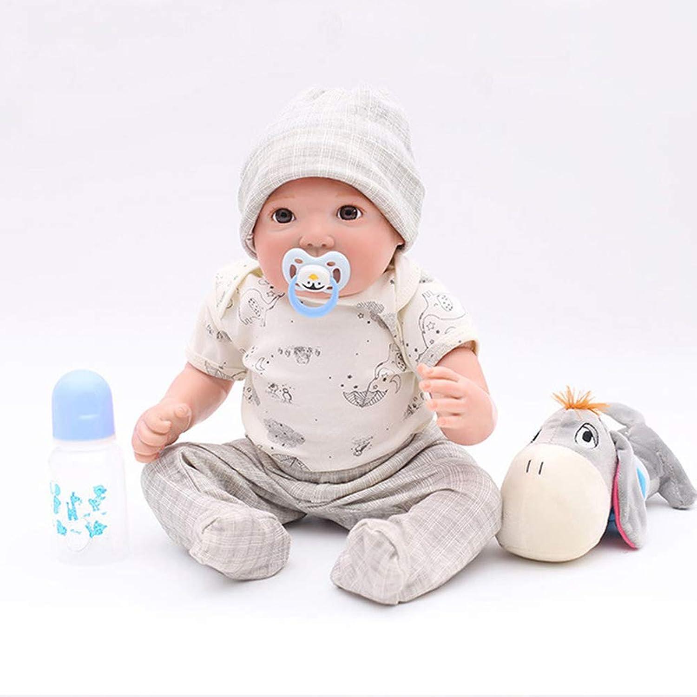 OTARDDOLL Reborn Puppe, 50,8 cm, naturgetreue Nachbildung, Handbemalt, schnes Baby-Spielzeug, Geschenk, Sammelpuppe, 50 cm, Silikon-Gliedmaen + Baumwollkrper
