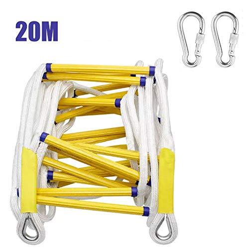 Brandwerende ladder, antislip, hars, met veiligheidshaken, geschikt voor werkzaamheden in het vliegtuig, klimhulp op Roccia, Fuga, Casa Sull'boom 20m