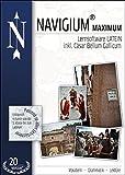 Navigium Maximum, Lernsoftware Latein: inkl. Cäsar Bellum Gallicum, Vokabeln - Grammatik - Lektüre