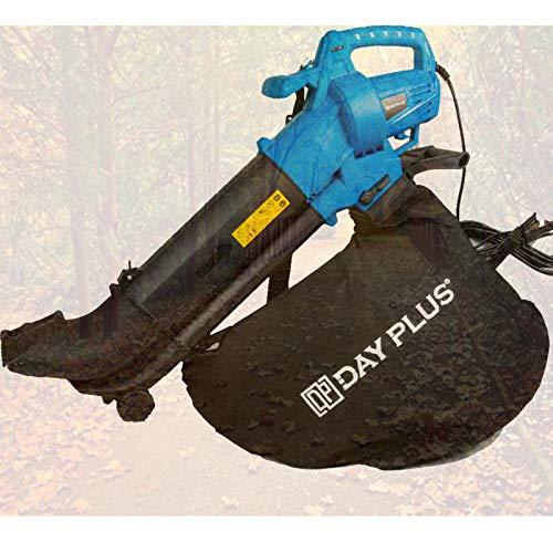 7Sevenjokers - Trituradora eléctrica para soplador de hojas y aspiradora, 35 L, 3500 W, potencia 10 m, en jardines, césped, terrazas, Reino Unido