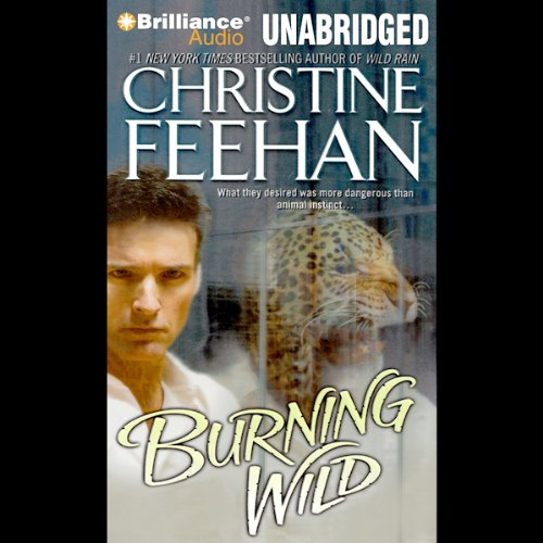 Burning Wild audiobook cover art