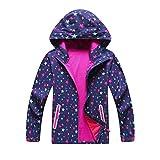 Jingle Bongala Boys' Girls' Rain Jackets Waterproof Raincoats -Nstar-130