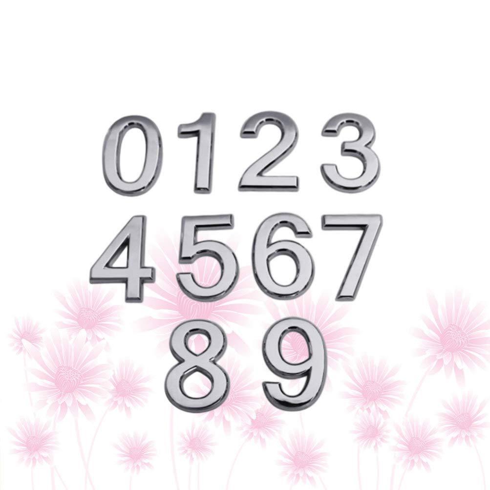 Exceart - Caja de letras con número de números de 0 a 9 números ...