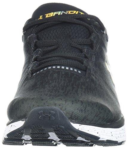 Under Armour Laufschuh UA Charged Bandit 3 Ombre, Chaussures de Fitness Homme, Noir (Black 001), 43...