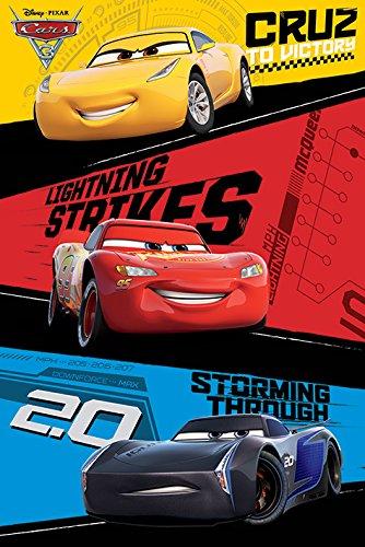 Autos 3 'Trio' Maxi Poster,61 x 91.5 cm